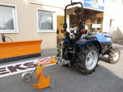 einzelpflug mit rad für traktoren wie z b iseki yanmar mod dp 20