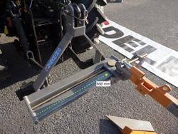 einscharpflug mit rad für schmalspurtraktoren mod dp 35