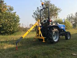 hydraulischer hubkran für kleintraktoren mod el 200