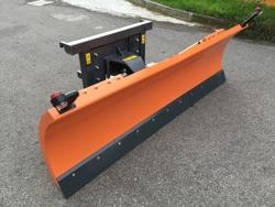 schneeschild mit euroaufnahme für frontlader mittelschwere ausführung mod ln 200 e