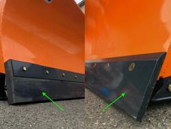 schneeschild für minibagger oder gabelstapler 175 cm mittelschwere ausführung mod ln 175 m