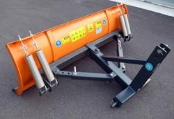 schneepflug mit dreipunkt aufnahme 130cm leichte ausführung mod lns 130 c