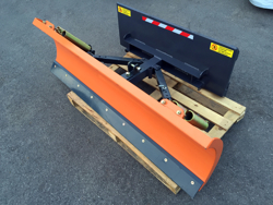schneepflug für minibagger oder gabelstapler 170 cm leichte ausführung mod lns 170 m