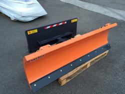 schneepflug für minibagger oder gabelstapler 190 cm leichte ausführung mod lns 190 m