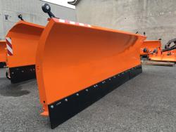 schneeschild mit euroaufnahme für frontlader schwere ausführung mod ssh 04 3 0 e