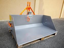 mechanische heckschaufel 120cm breit mod prm 120 l