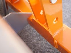 mechanische heckschaufel 180 cm breit schwere ausführung mod prm 200 h