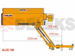 böschungsmulcher schwere ausführung für traktoren von 70 110 ps mod alce 180