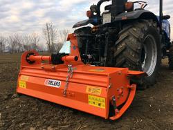 bodenfräse für traktoren 150cm breit mittelschwere ausführung mod dfm 150