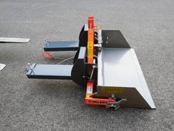 mechanische kippmulde 100cm breit für gabelstapler mod prm 100 lm
