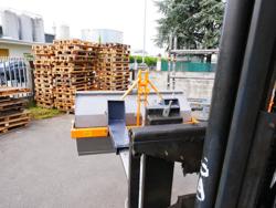 mechanische kippmulde 120cm breit für gabelstapler mod prm 120 lm