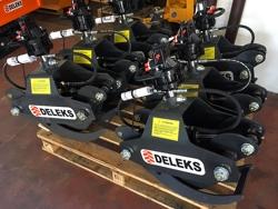holzzange holzgreifer mit rotator für kräne und mini bagger von 1 5 bis 2 5t mod dk 10 gr 10