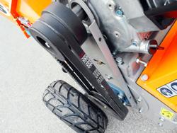 benzin häcksler schredder mit motor mod dk 800 yamaha