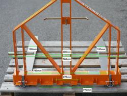 palettengabel für kleintraktoren mod d 700