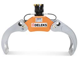 holzzange holzgreifer mit rotator für kräne und mini bagger 4 0 bis 8 0t mod dk 16 gr 55ff