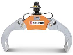 holzzange holzgreifer mit rotator für kräne und mini bagger 4 0 bis 8 0t mod dk 16 gr 30f