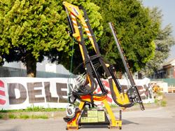 hydraulischer arm mit 180cm mähbalken mod falco 180