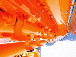 schlegelmäher hyadraulisch seitenverstellbar für mittelschwere traktoren leopard 180 sph