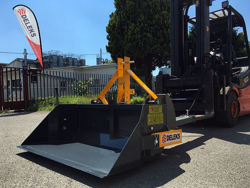 hydraulische heckschaufel 140 cm breit schwere ausführung für gabelstapler mod pri 140 hm