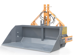 hydraulische heckschaufel 140cm breit schwere ausführung mod pri 140 h