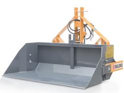 hydraulische heckschaufel 200 cm breit schwere ausführung mod pri 200 h