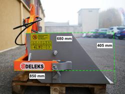 hydraulische heckschaufel 120 cm breit für gabelstapler mod pri 120 lm