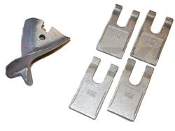 ersatzbohrschneiden für bohrspitze ø30cm