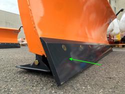 schneeschild mit dreipunkt aufnahme 250cm mittelschwere ausführung mod ln 250 c