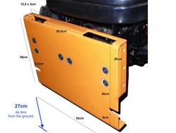 schneeschild mit universalplatte mittelschwere ausführung mod ln 250 a