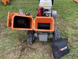 benzin häcksler schredder mit motor mod dk 800 honda