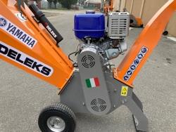 benzin häcksler schredder mit lifan motor mod dk 500 yam