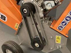 benzin häcksler schredder mit lifan motor mod dk 500 honda