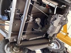 motorschubkarre 4x4 mit b&s motor e start und lithium batterie md 400 bsl
