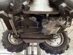 motorschubkarre 4x4 mit ducar md 400