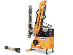 hydraulischer böschungsmulcher mit auslegearm für traktor mod airone 160 tr