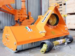 schlegelmulcher mit hammerschlegel und fixanbau 140 cm mod lince 140