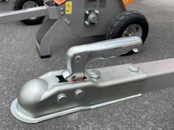 benzin häcksler schredder mit lifan motor mod dk 500 lf