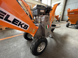 benzin häcksler schredder mit lifan motor mod dk 500 bs