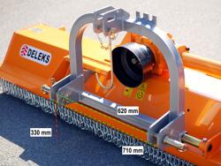 mulcher mit seitenverstellung für mittelschwere ausführung 160 cm mod puma 160
