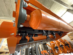 mulcher mit hydraulische seitenverstellung für traktoren mod jaguar 150