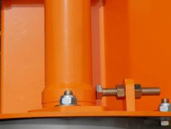 mittelschwerer mulcher mit seitenverstellung für alle mittleren traktoren mit reifen oder gleisketten mod tigre 180