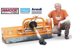 mulcher mit seitenverstellung für mittelschwere ausführung 140 cm mod leopard 140 sp