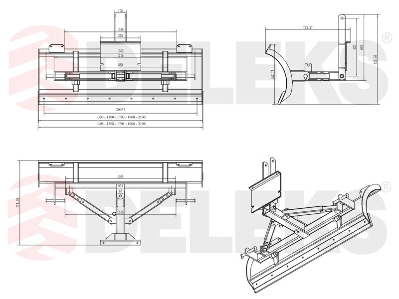 schneeschild-mit-universalplatte-130cm-leichte-ausführung-mod-lns-130-a