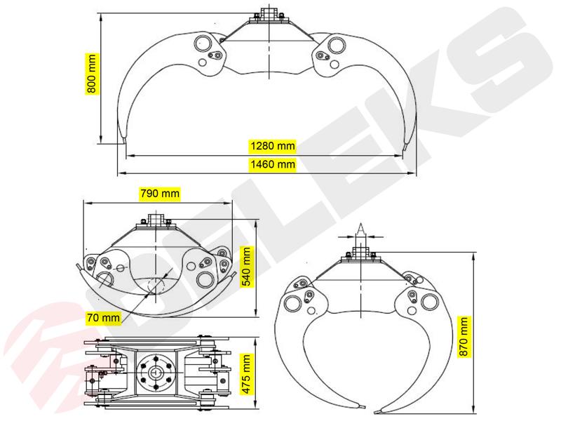 holzzange-holzgreifer-mit-rotator-für-kräne-und-mini-bagger-4-0-bis-8-0t-mod-dk-16-gr-30f