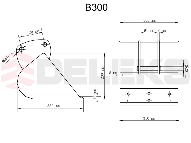 schaufel-für-minibagger-b-300