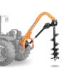 erdbohrer für traktoren mit austauschbaren bohrspitzen